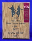 2010 ACSC/SOS Spring Safari Parade - Best - Shag Club Troupe with Ribbon