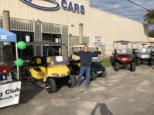 Golf Cart Ticket Sales 2